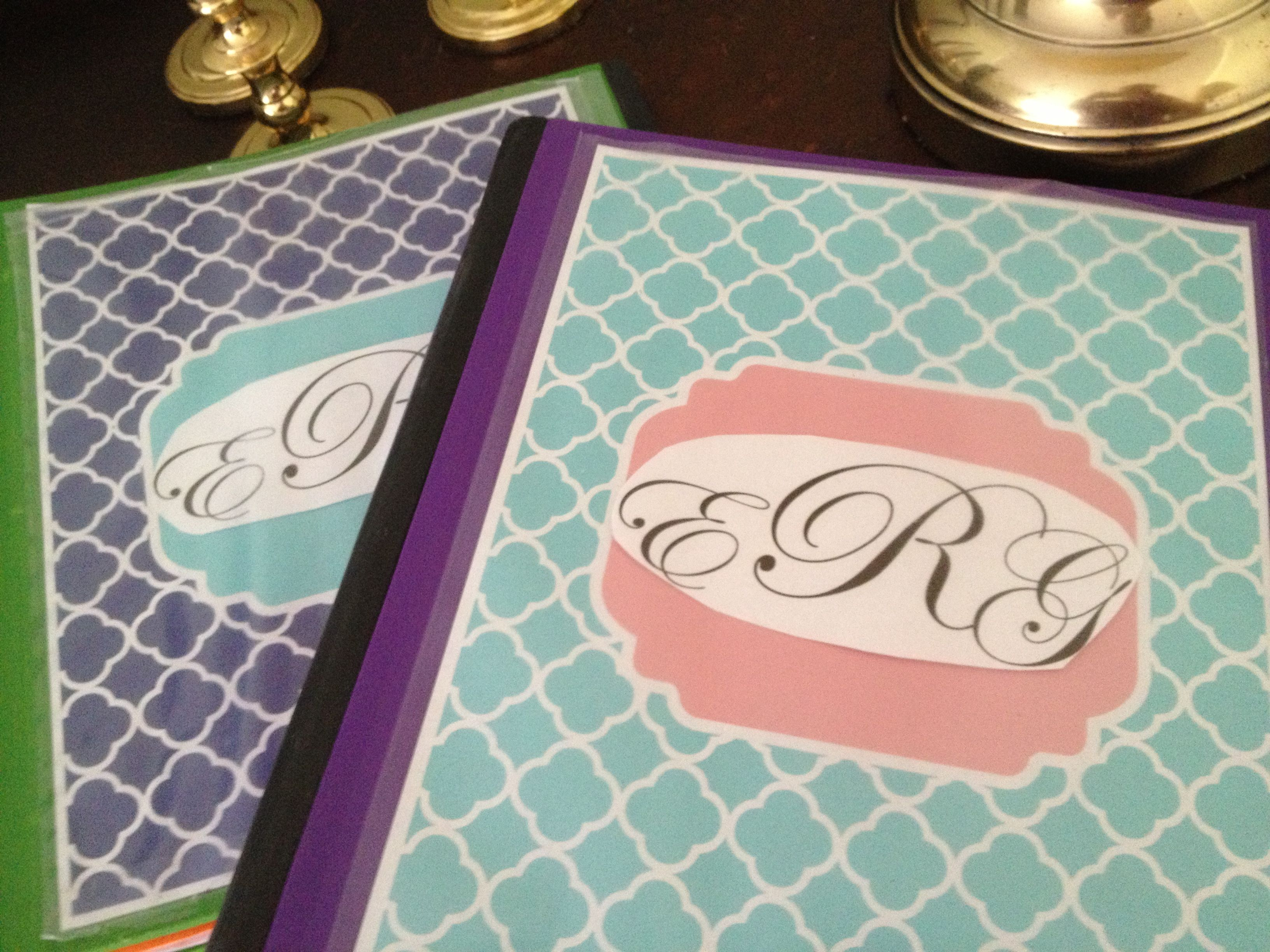Diy Binder Covers Do It Myself Pinterest Binder Craft And Diy