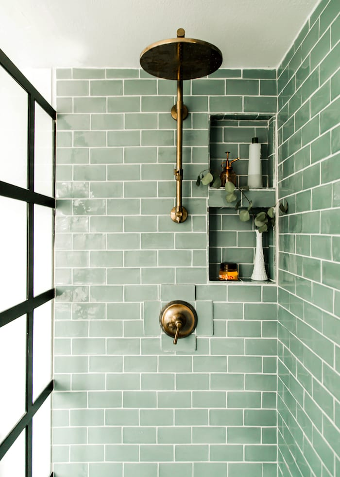 50 Beautiful Bathroom Tile Ideas Small Bathroom Ensuite Floor Tile Designs Tile Bathroom Beautiful Tile Bathroom Small Bathroom Tiles