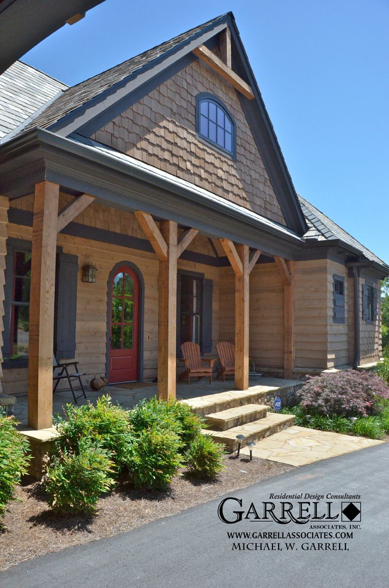 Front Of House Design Software: Lake Cottages With Porches Plans
