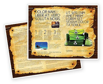 Tourist Brochure Template Travel Tourism Brochures Flyers Word