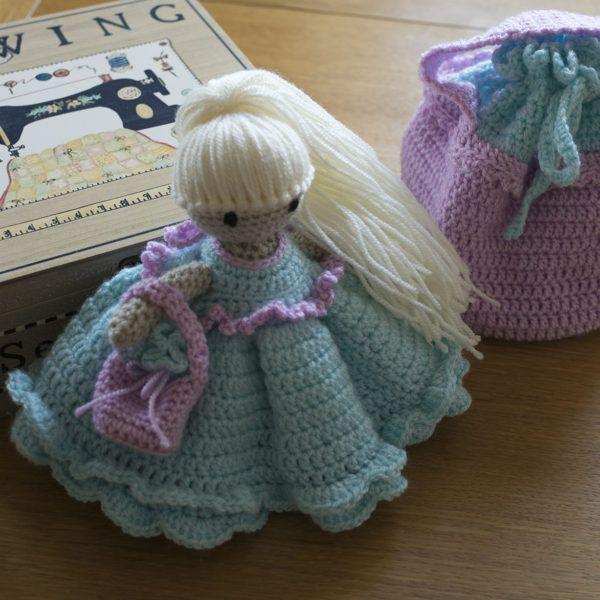 Persephone Seasons Doll Winter8 Easy Crochet Pinterest