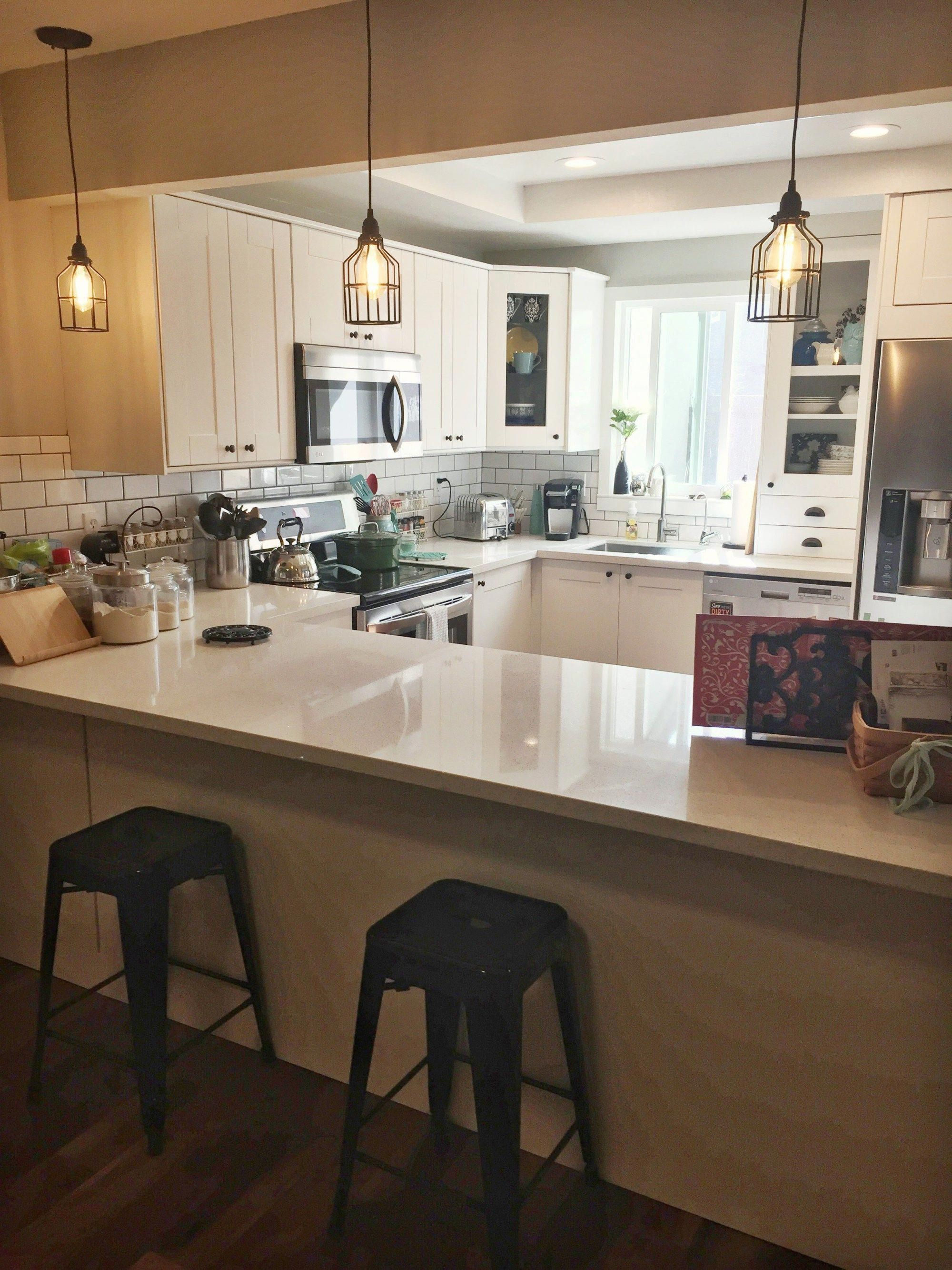 1960s Kitchen Remodel Before After: Kitchen Renovation Reveal Before And After Pictures