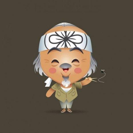 Cute Mr. Miyagi