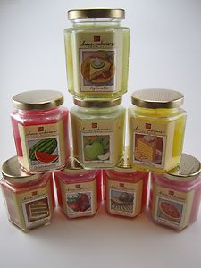 home interiors gifts hex jar candles various scents gadgets