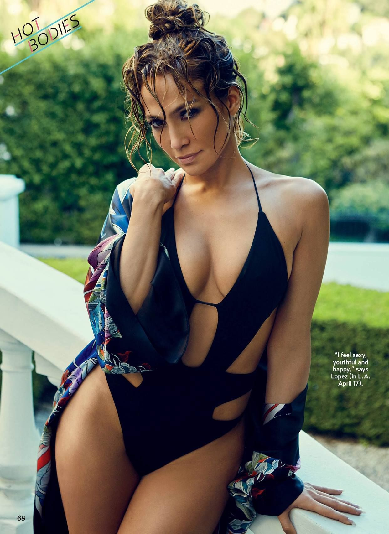 Jennifer Lopez Hot Ass Booty Boobs Sideboob Bikini Sexy Youthful Happy La Swimsuit June  Us Weekly Magazine The Best Bodies Issue Album On Imgur