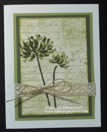 Wow A 25 Purchase Gets You The Demonstrator Discount Floral Cards Flower Cards Stamped Cards