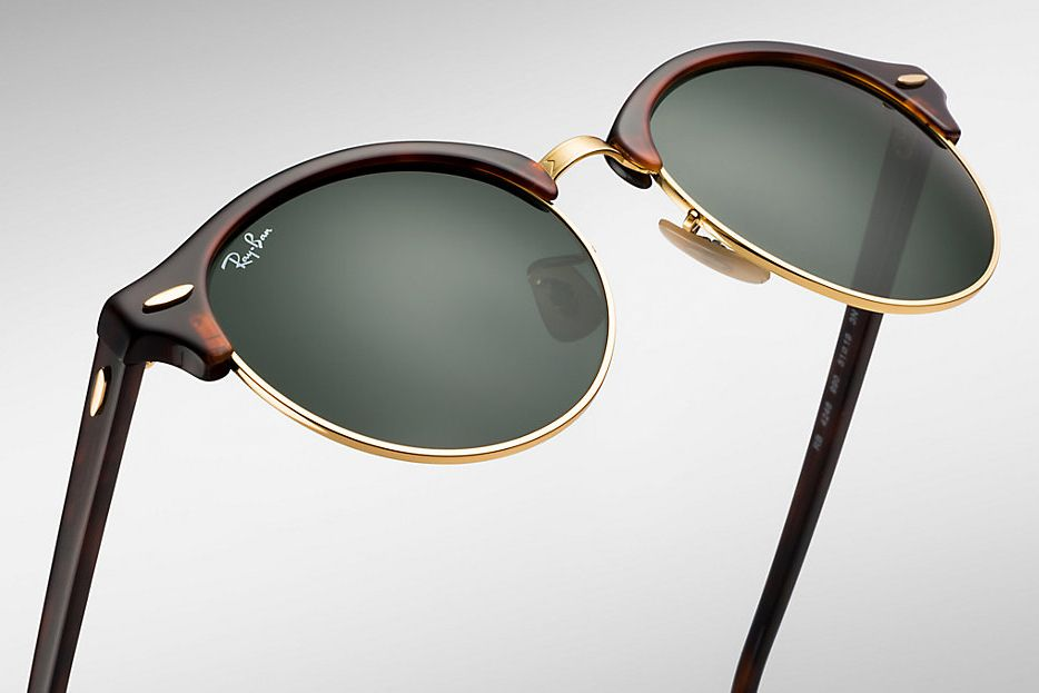 4d0ae648a6a1 Unveils New Clubround Style Ray-Ban. Visit tiptopglasses.com to select from  a beautiful range of Ray Ban sunglasses!