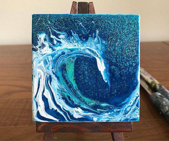 how to make fluid art