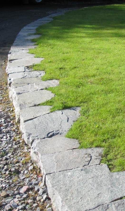 lawn edging stones interesting ames stone edge landscape jpg 526