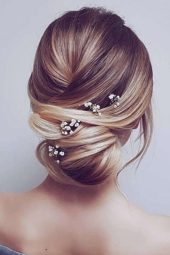 30 Bridesmaid – Elegant And Chic Hairstyles ❤ bridesmaid updos simple low bun with baby breath hairbyhannahtaylor 30 Bridesmaid - Elegant And Chic Hairstyles ❤ bridesmaid updos simple low bun with baby breath hairbyhannahtaylor - -