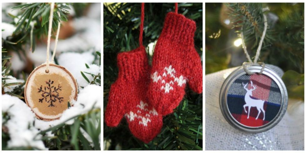 48 Homemade Christmas Ornaments   DIY Crafts With Christmas Tree Ornaments