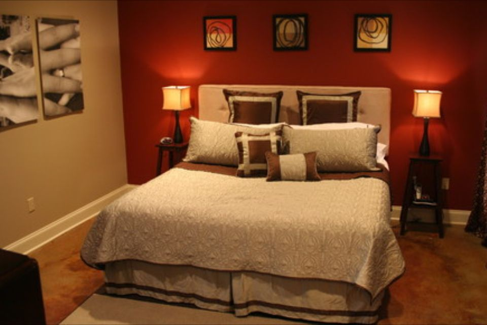 Love These Colors Red Bedroom Walls Red Bedroom Design Red