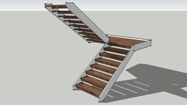 Best Beginners Stairs Swedish Sketchup Model Stairs Revit 400 x 300
