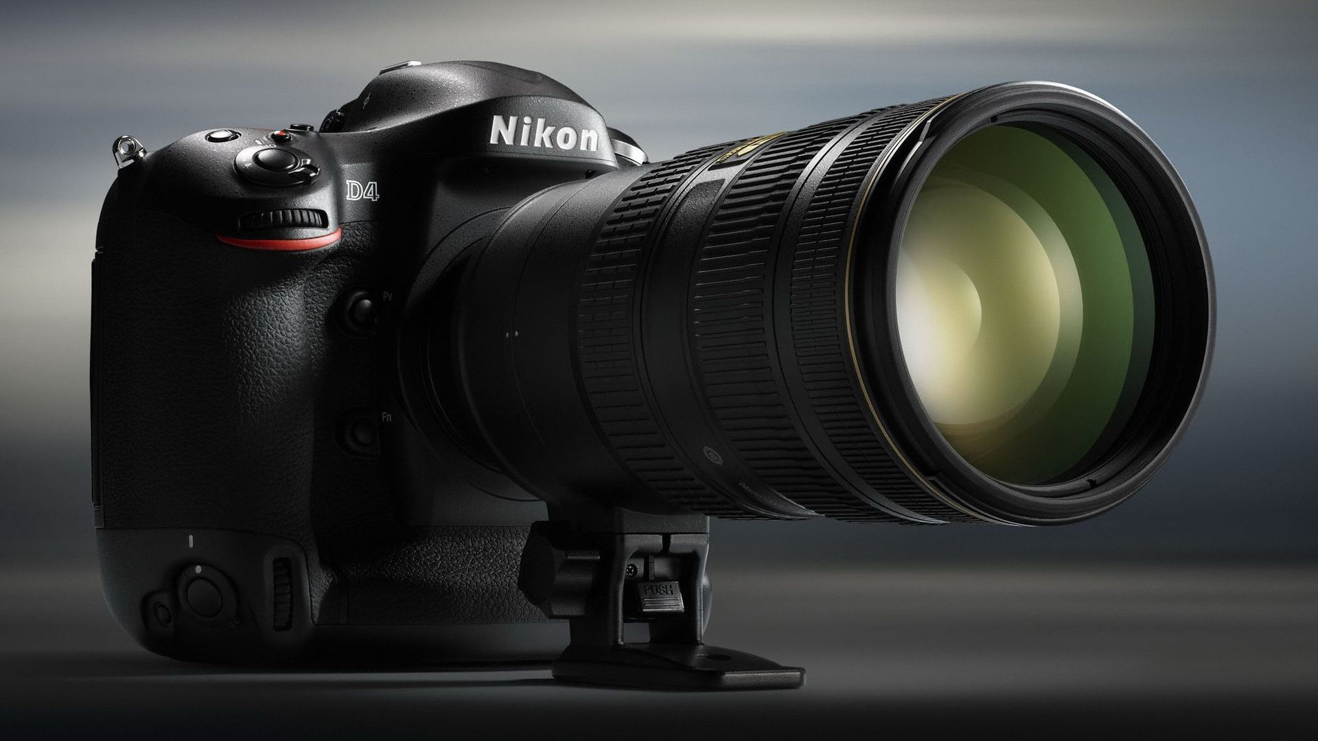 Nikon D4 DSLR Camera Lens Wallpaper - http://www ...