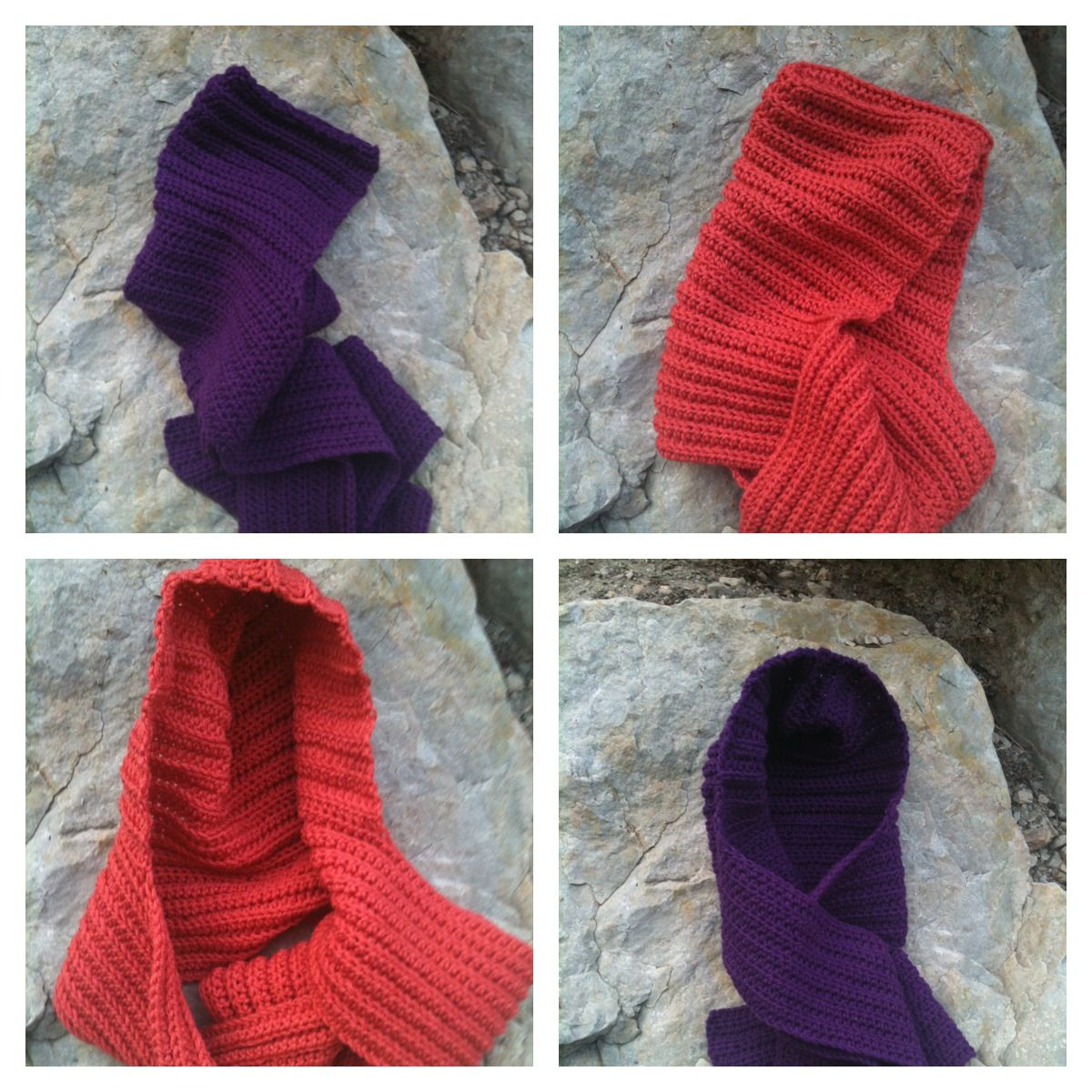 Crochet hooded scarves....just in time for fall!