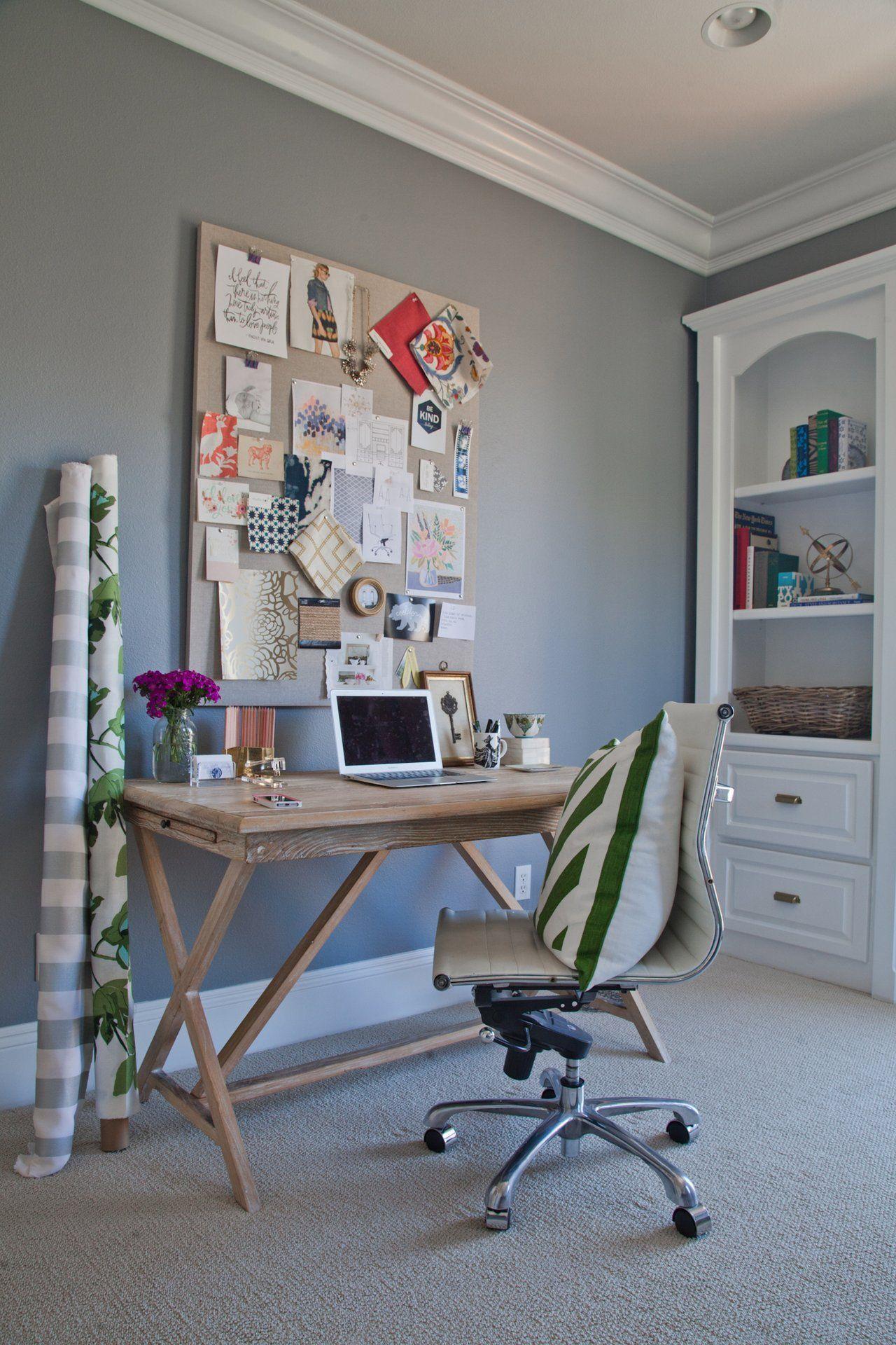 Shea's Stylish Happy Home Office
