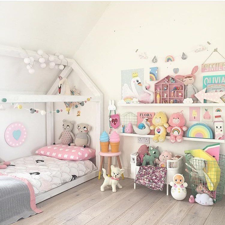 Your Little Girl Is A Princess Find The Most Amazing Princess Bedrooms For Your Daughters Room Find More At Ci Toddler Rooms Kid Room Decor Toddler Bedrooms