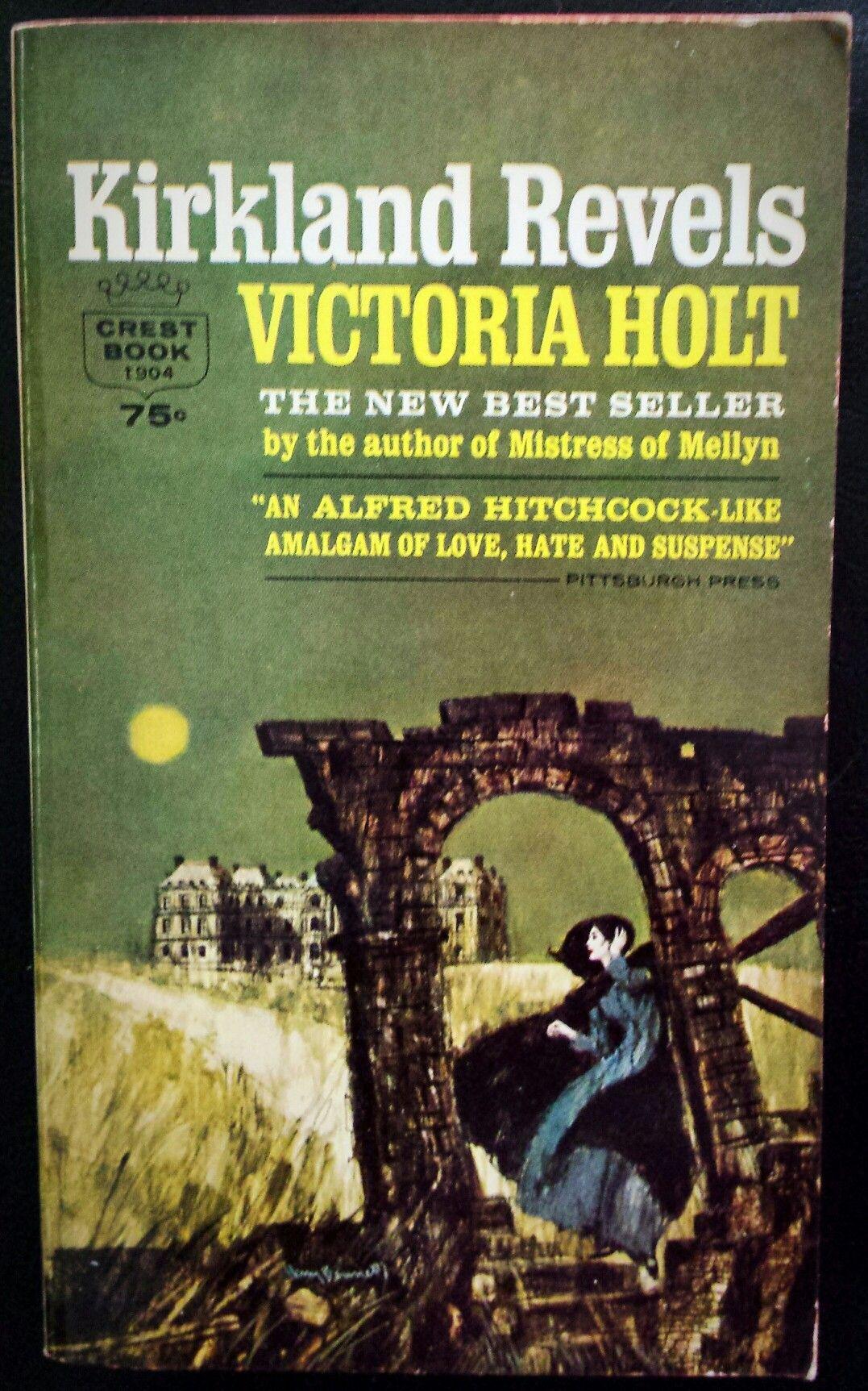 Kirkland Revels - Victoria Holt Cover art by Harry Bennett
