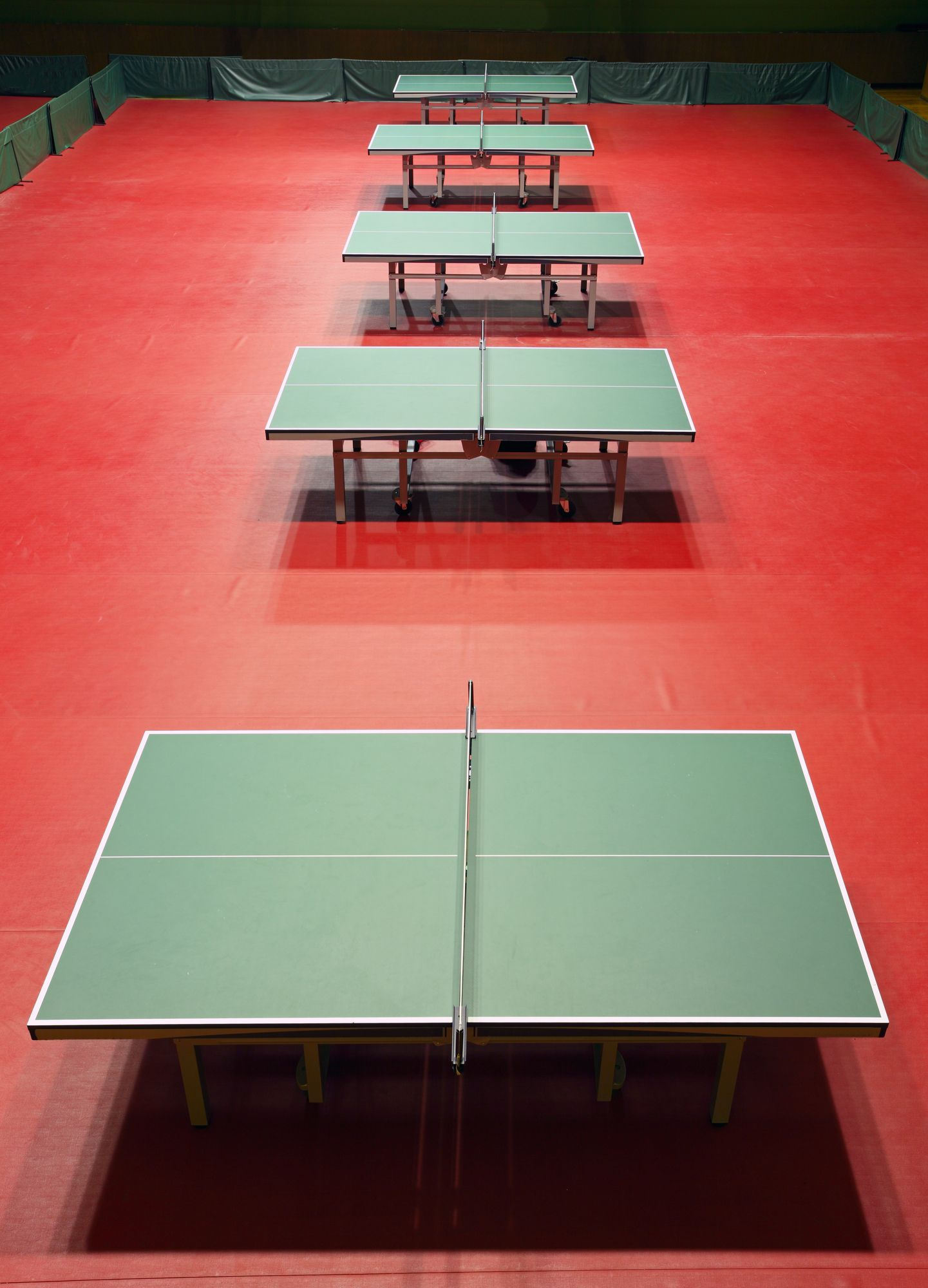 Table Tennis Venue Table Tennis Tennis Wallpaper Sport Hall