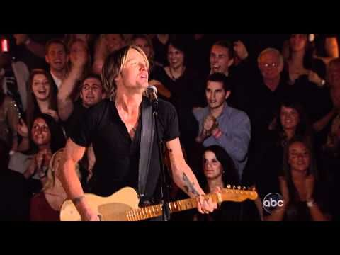 "Keith Urban performing ""You Gonna Fly"" live - CMA Awards - 2011"
