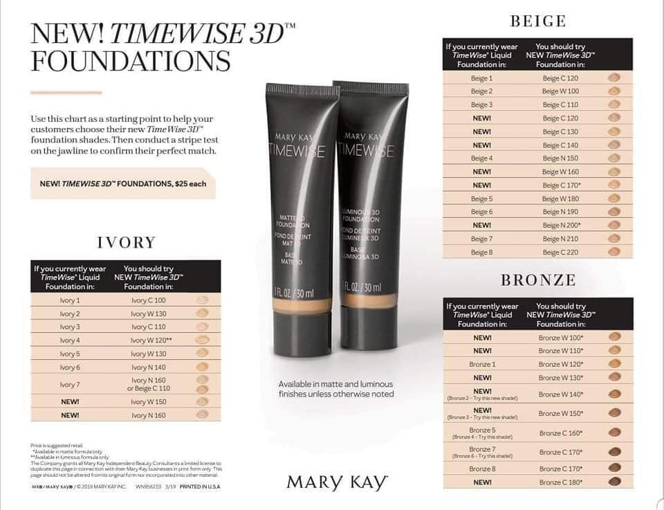 Base Timewise Matte Mary Kay All Things Beauty Makeup