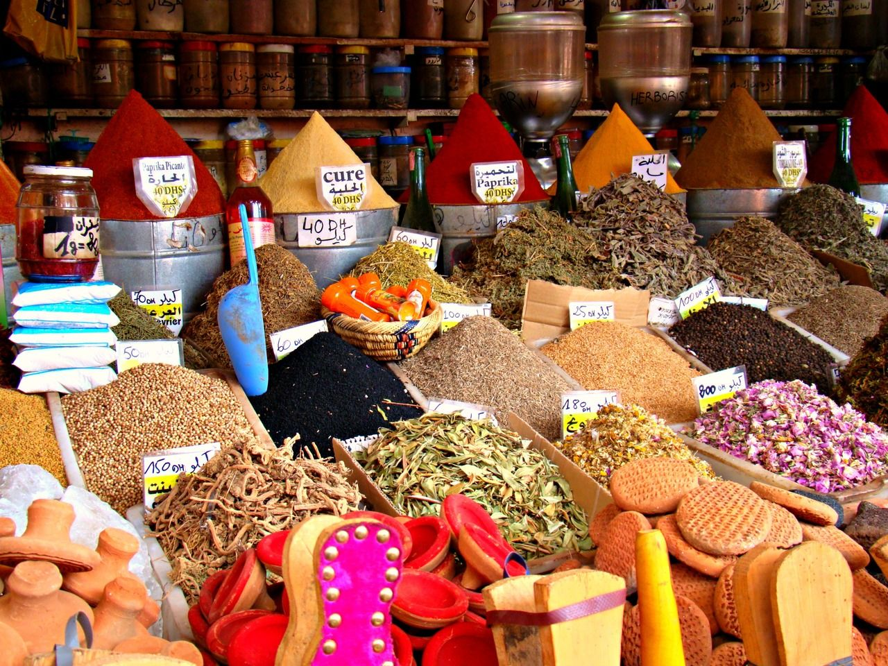 moroccan spice market 11831 | infovisual