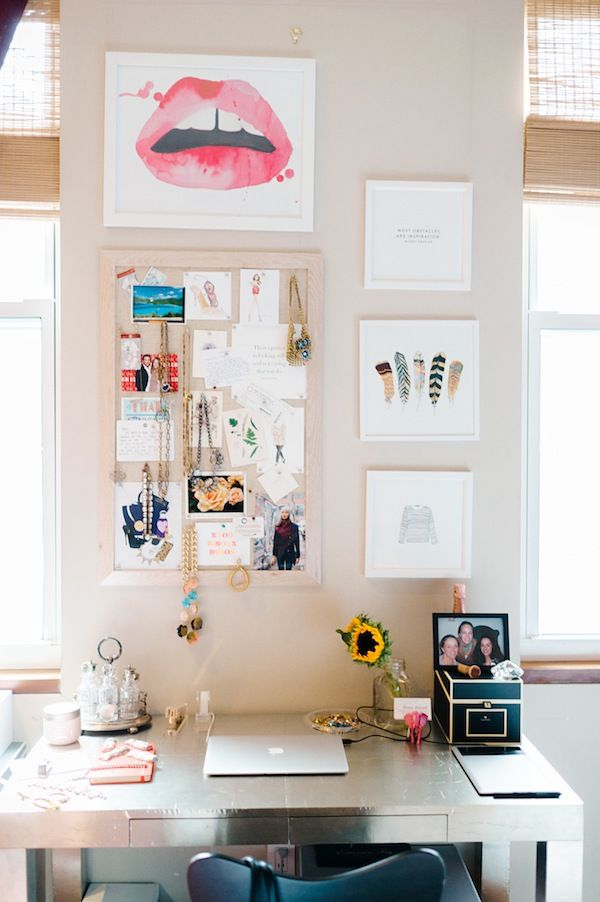 glitter girl grace atwood ideen f r daheim pinterest buero arbeitszimmer und arbeitsplatz. Black Bedroom Furniture Sets. Home Design Ideas