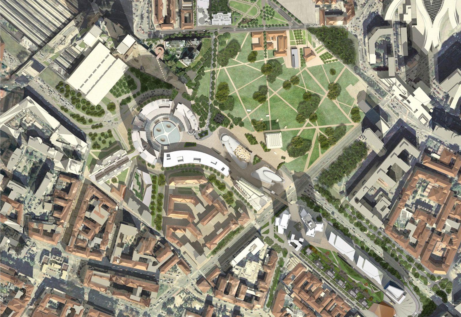 Studio Architettura Paesaggio Milano progetto porta nuova, milano - michael maltzan architecture