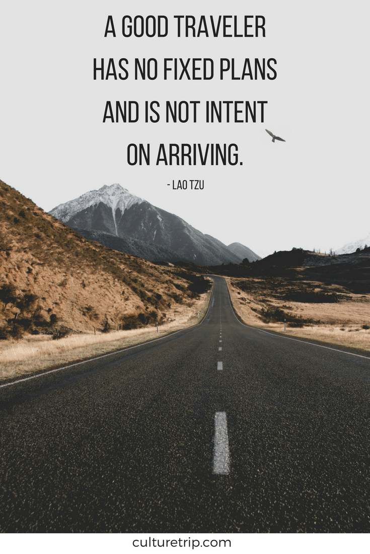 Inspirational Quote by Lao Tzu.   Travel quotes, Travel ...