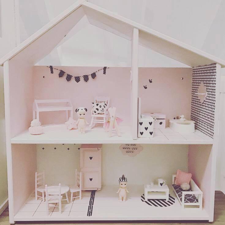 een poppenhuis voor mama de interieur junkie coole ouders pinterest. Black Bedroom Furniture Sets. Home Design Ideas