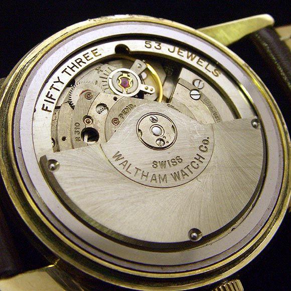 TIMEPIECE Vintage Watches Shop - WALTHAM Automatic 53 Jewels!