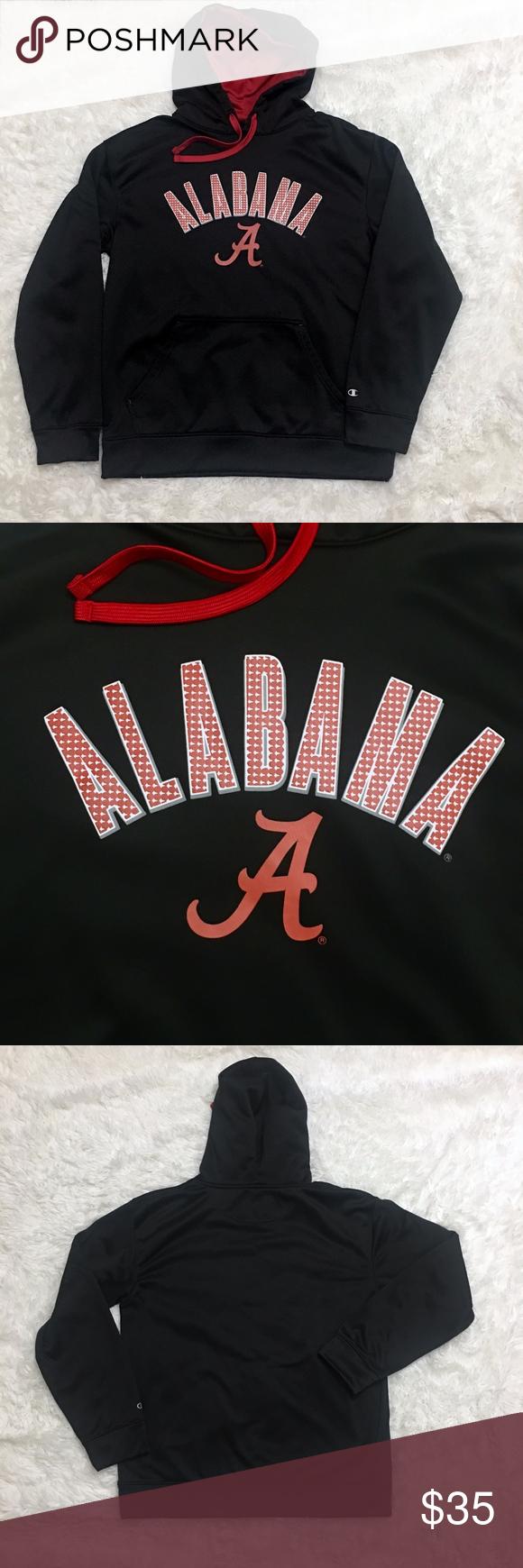 Champion University Of Alabama Hoodie Med Alabama Hoodie Sweatshirt Shirt Champion Shirts [ 1740 x 580 Pixel ]