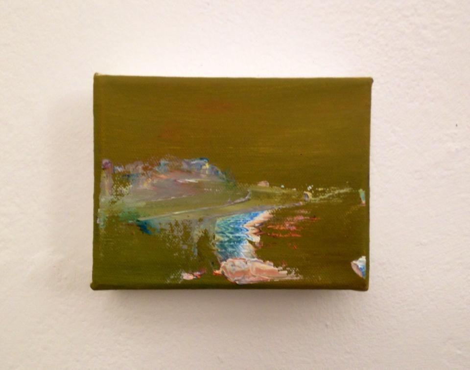 niamhmcconaghy.co.uk Oil on canvas, 7.6x 10.2cm