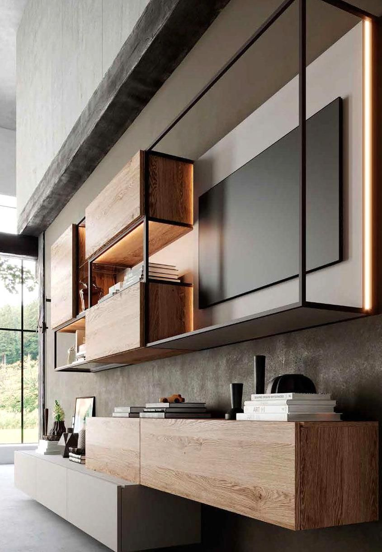 Lcd Wall Design, Living Room Designs