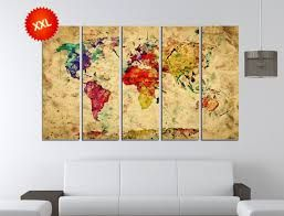 Vintage style world map canvas google search wall art vintage style world map canvas google search gumiabroncs Image collections
