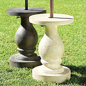 Baluster Umbrella Stand Outdoor Umbrella Stand Patio Umbrella Stand Umbrella Stand