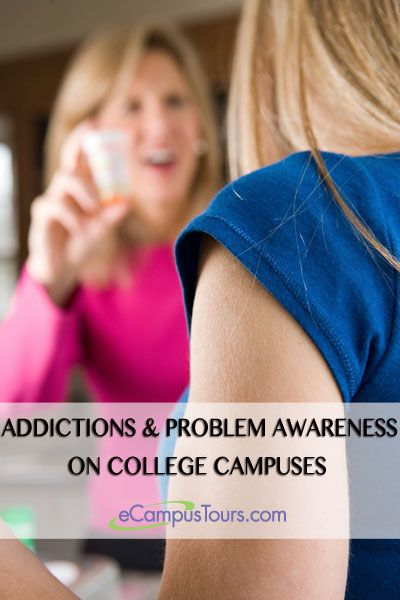addictions and problem awareness on college campuses