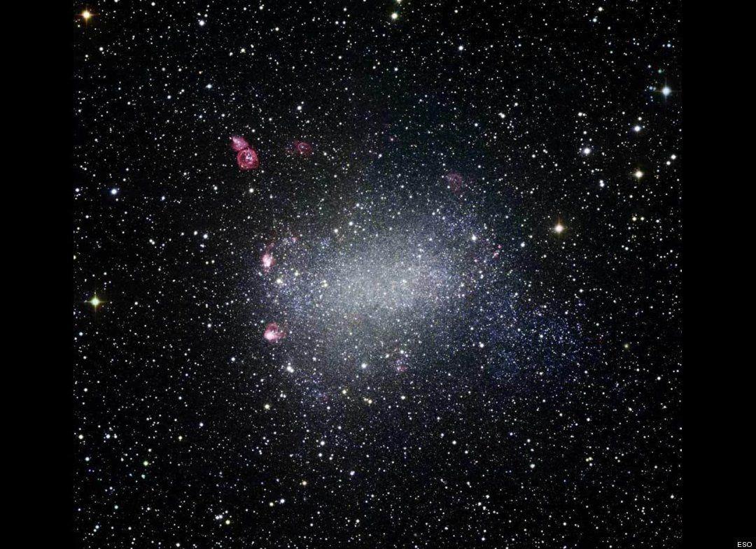 Barnard's Galaxy, added Oct. 15, 2009