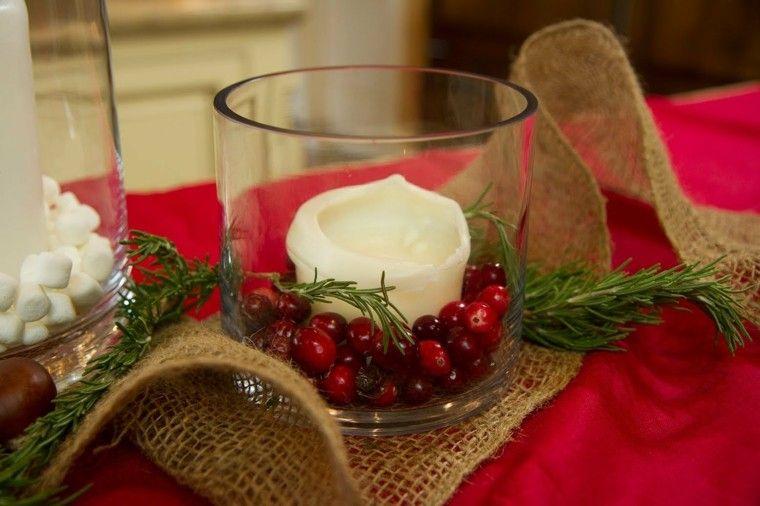Centros De Navidad Con Velas 50 Ideas Geniales Christmas Ideas - Centros-de-navidad