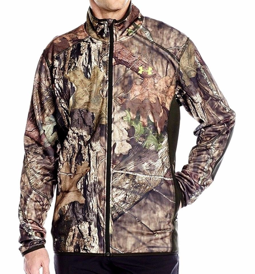 c939423e40359 NEW MENS UNDER ARMOUR MOSSY OAK COUNTRY SCENT CONTROL FLEECE JACKET XLARGE  XL #UnderArmour