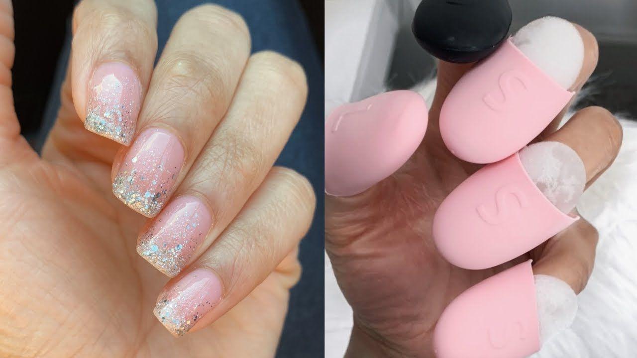 How I Remove Gel Nails At Home No Damage Gel Nail Removal Gel Nails Nails