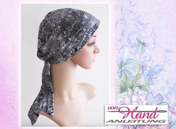 Nähanleitung Chemo Mütze Kopfbedeckung Größen S M L