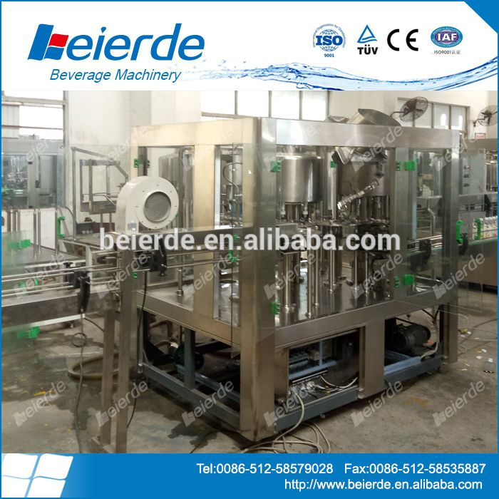 bottle filling machine price/small bottling plant/small