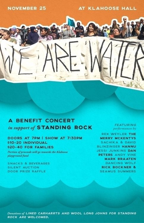 On 1 Island in The Salish Sea we have tons of talent and Tonite we're all coming together with a benefit concert ,silent auction and more to help raise funds and awareness for Standing Rock on Cortes … - from @laurabalducci on Ello.