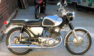 Honda Super Hawk Cb77 Honda Motorcycles Scrambler Motorcycle Honda