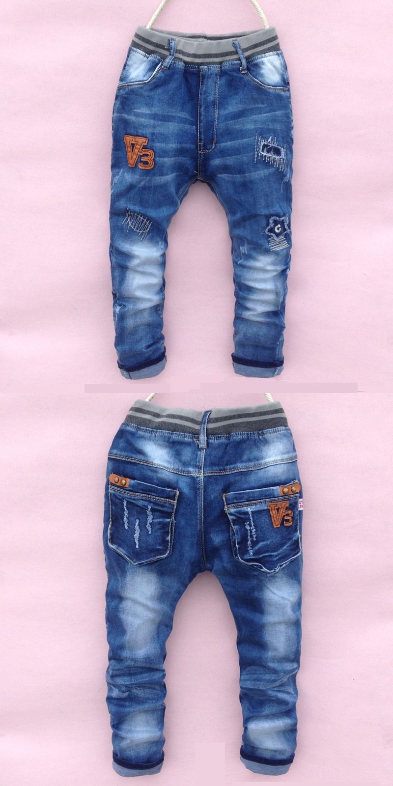 years old free shipping good quality plad cotton boyspants