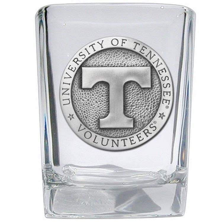 Tennessee Volunteers Pewter Accent Shot Glasses, Set of 4