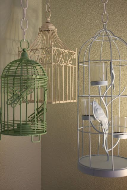 Growing Up Gardner Hanging Bird Cage Tutorial Hanging Bird Cage Bird Cage Vintage Bird Cage