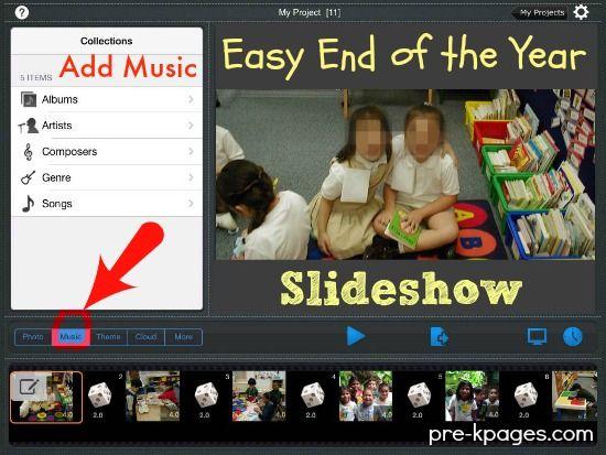 How To Make A Picture Slideshow Kindergarten Graduation Programs Preschool Graduation Pre K Graduation