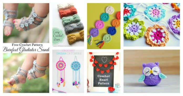 20 Amazing Free Crochet Patterns That Any Beginner Can Make ...